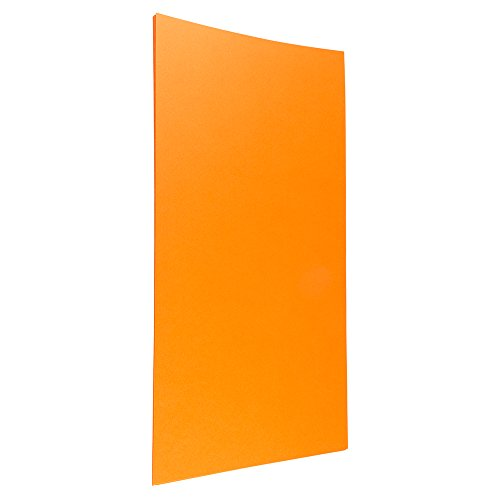JAM Paper Metallic Legal Paper - 8.5 x 14-80lb Stardream Metallic Orange - 25 Sheets/Pack