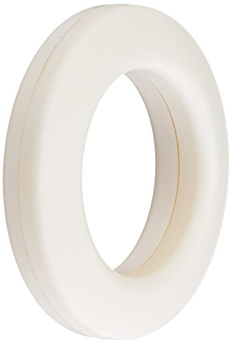 Dritz 44371 Plastic Curtain Grommets 1-Inch Inner Diameter White 8 Count