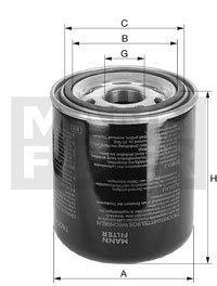 Mann Filter TB 1374/4 Cartucho del secador de aire, sistema de aire comprimido: Amazon.es: Coche y moto