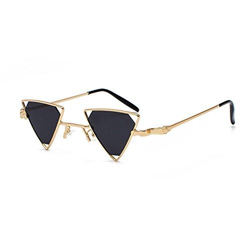 C1 Sonnenbrille KXLEB Schwarz Tonos Metallrahmen Los Retro Rosa Gelb Sonnenbrille Rot Vintage Dreieck Frauen C1 Männer qr1vRxZqw