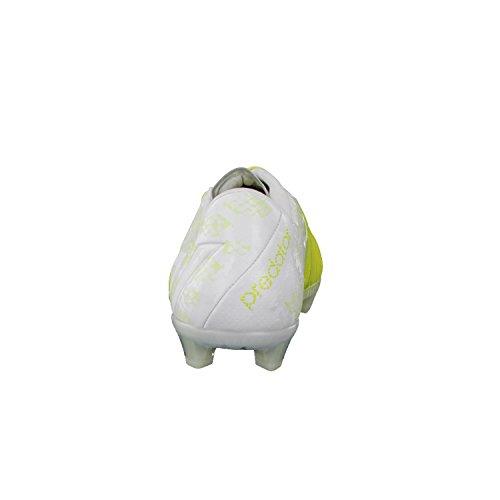 adidas Bota Predator Instinct FG Exclusiva White-Solar green Talla 7 UK