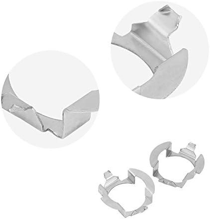 Sockelhalter , 1 Paar H7 LED-Scheinwerferadapter Lampensockelhalter