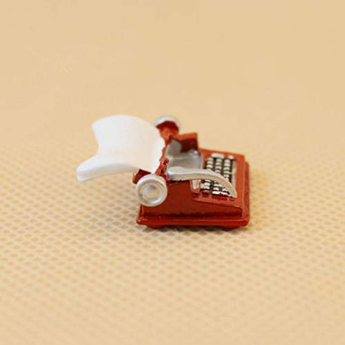 itional Mini Metal Tipewriter Non-Working for 1:12 Doll House ()