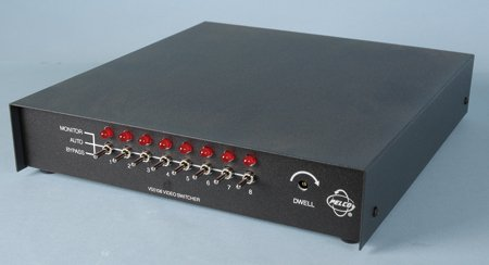 Pelco VS5108 Sequential Desktop Switcher 8 In X 1 Out (Switcher Desktop)