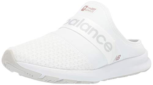 New Balance Women's Nergize V1 Fuel Core Sneaker, White/Summer Fog, 7.5 W US