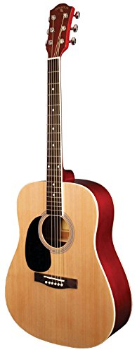 INDIANA Scout Deluxe S-SCOUT-NL Left Handed Acoustic Guitar - Natural -