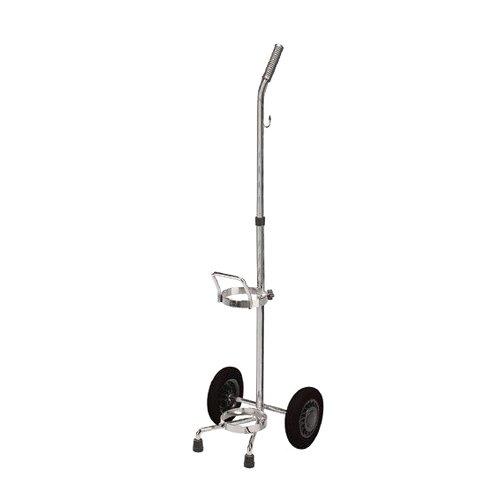 Drive Mediumical Oxygen Cylinder Cart, Dual, Silver, 2/CS