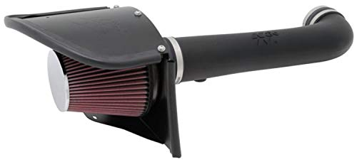 K&N 63-1566 AirCharger Performance Air Intake System for Jeep Wrangler JK 3.6L V6