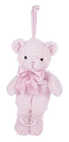 Bear Musical Pull - Bearington Baby Huggie Bear Hush-A-Bye Musical Pull (Pink)