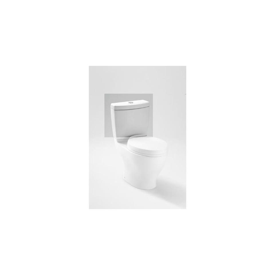 Toto ST412M 01 Aquia Dual Flush Toilet Tank Cotton   Toilet Water Tanks