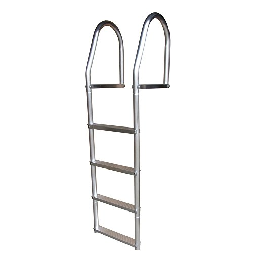 Dock Edge ECO Weld Free Fixed Dock Ladder, 4 Steps, (4 Step Dock Step)