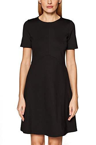 001 Esprit black Donna Nero Vestito 1qqwAIcR