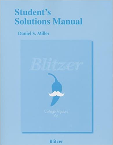 Students solutions manual for college algebra robert f blitzer students solutions manual for college algebra 6th edition by robert f blitzer fandeluxe Image collections
