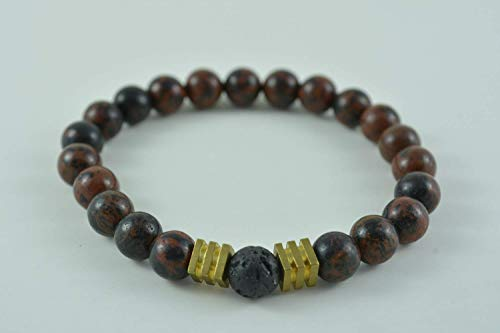 Handmade Women's Agate Stretch Bracelet
