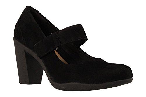 26128433 Clara Clarks Negro Zapato Adya nxFYqTn1Z