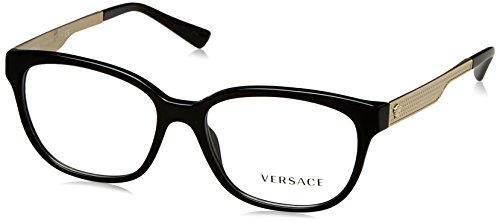 Versace Women's VE3240 Eyeglasses Black 54mm by Versace
