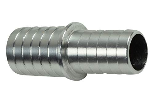 "5/8"" to 3/4"" Inch Hose Barb Splice Coupler Repair Connector Fitting Adapter"