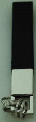 3x Llavero con banda de negro y 5anillos