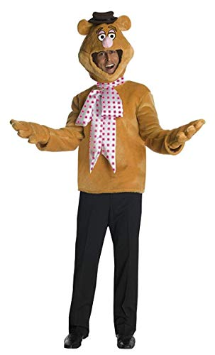 Disney The Muppets Fozzie Bear Costume, Brown, One