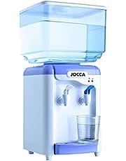 Jocca 1102 waterdispenser met tank, wit en paars, 23 x 23 x 47,5 cm