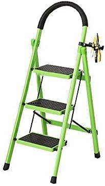 XITER-Taburete Escalera, Escalera de 3/5 Niveles Taburete de Metal Escalera Plegable Taburete Antideslizante para Interiores Escalera Alta Escalera Multifuncional Taburete de Seguridad para escaleras: Amazon.es: Hogar