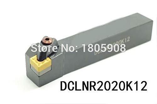1 piece DCLNR2020K12 CNC Turning Lathe Machine Tools Lathe Cutting Tools 95 degrees External Turning Tool Holder 2020125mm