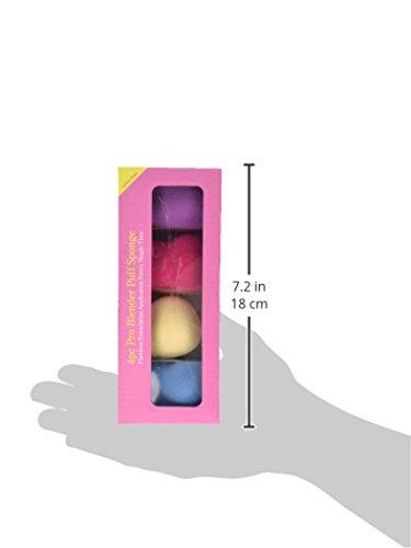Bundle Monster 4-tlg. Kosmetikschwamm-Set zum makellosen Auftragen von Make-Up