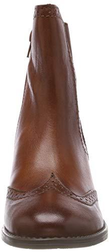 Bugatti 411562344100 6300 Para cognac Botines Mujer HHwnqSr6