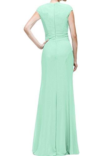 Rundkragen Promkleid Damen Brautmutterkleid Abendkleider Lang Lavendel Meerjungfrau Ivydressing Ballkleider qzwOpg