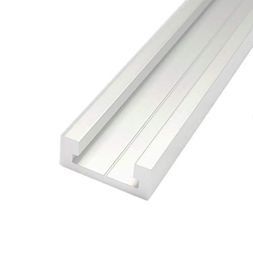 POWERTEC 71167 Aluminum Miter T-Track, 48-Inch -