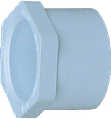 - Genova Products 30254 PVC Pressure Pipe Fitting, Reducer Bushing, White PVC, 1-1/2 x 1-1/4-In. - Quantity 10