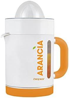 Beper 90.307 Exprimidor de zumos, 40 W, Blanco Y Naranja: Amazon ...