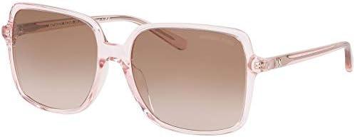 Michael Kors MK2098U 367813 Transparent Pink Isle Of Palms Square Sunglasses Le