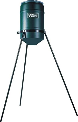 On Time Wildlife Feeders Tripod Only, 200 Lb, Green, - 200 Tripod Lb