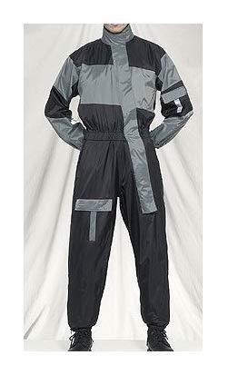 classic style 100% satisfaction classcic Amazon.com: 1 Piece Motorcycle Rain Suit Black/Gray XL ...