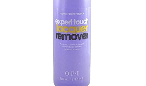 New Expert Touch Nail Polish and GelColor Remover Removes dark shades of lacquer fast Non-drying, moisturizing formula | 16 fl.oz , 480 ml.