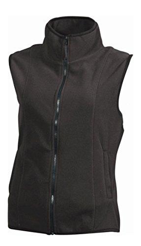 Chaleco Mujer en microfleece 280 g/m² dark-grey