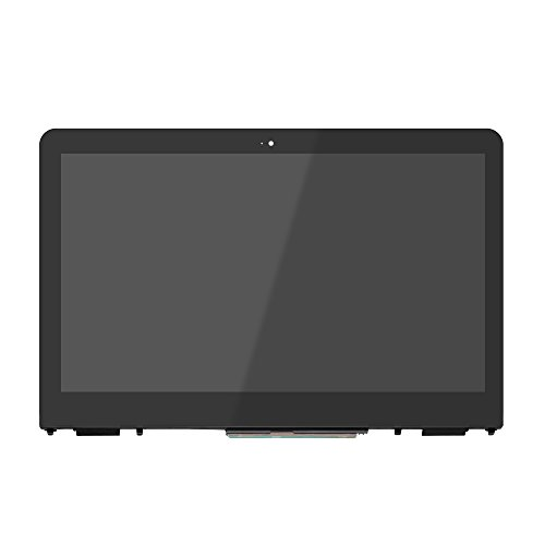 LCDOLED 13.3 inch FullHD 1920x1080 LED LCD Display Touch Screen Digitizer Assembly + Bezel for HP Pavilion X360 m3-u100 m3-u101dx m3-u103dx m3-u105dx with Touch Control Board ()