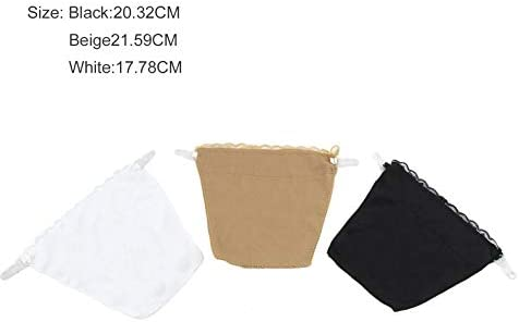 ukYukiko Seamless Quick Easy Bra Lace Clip On Mock Camisoles 3 Colors Packed Bra Set