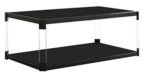 - Homelegance Mehta Cocktail Table, Black