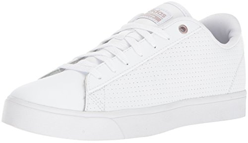 adidas Women's CF Daily QT CL W, White/White/Grey, 8.5 M US