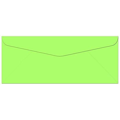 "Hot 100 Key Lime #10 Envelopes - 9.5"" x 4.125"" - Standard Flap hot sale"