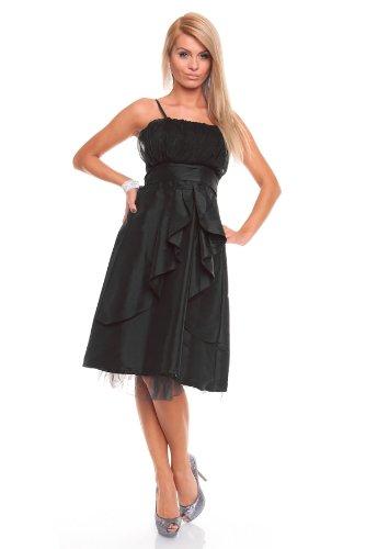 Young-Fashion - Vestido - Sin mangas - para mujer negro