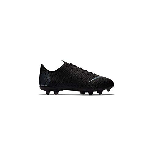 3acb96b0b Nike Vapor 12 Academy Kid s Firm Ground Soccer Cleats (3.5 Big Kid M) Black