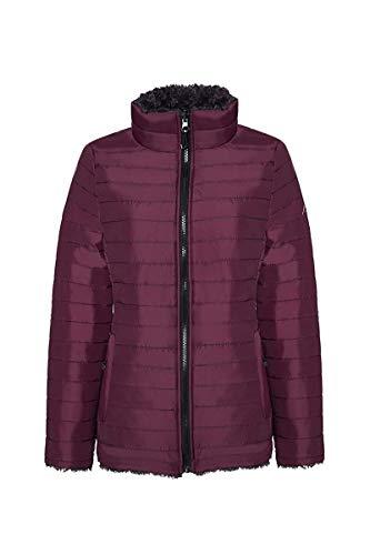 (HFX Kenzie Plus Size Reversible Quilted Jacket (Bordeaux,)