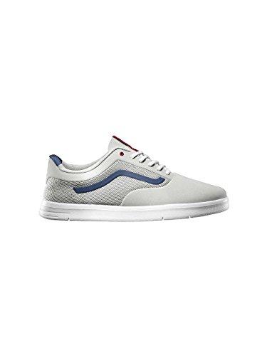 Vans Mens Lxvi Graph Training Sneakers Lightgreynavyred