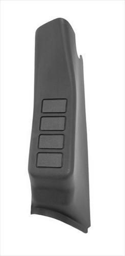 Rugged Ridge 17235.56 Black A-Pillar Switch Pod