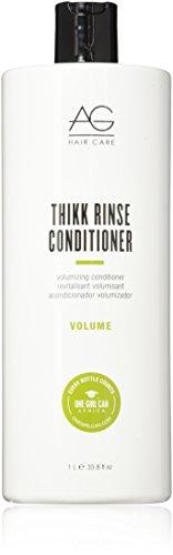(AG Hair Volume Thikk Rinse Volumizing Conditioner 33.8 Fl Oz)
