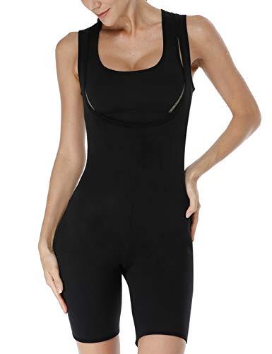 - NonEcho Sauna Full Body Shaper Neoprene Sweat Bodysuit Slimming Shapewear Weight Loss Suit Gym Aerobic Boxing