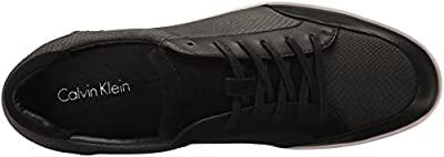 Calvin Klein Men's Balin Emossed Lea Calf Smooth Fashion Sneaker